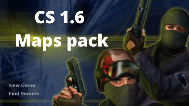 CS 1.6 maps pack