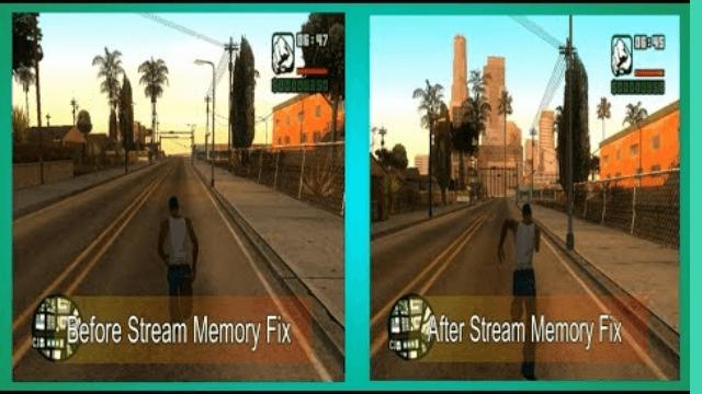 GTA San Andreas slow textures loading fix