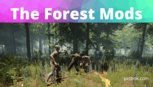 the forest mods