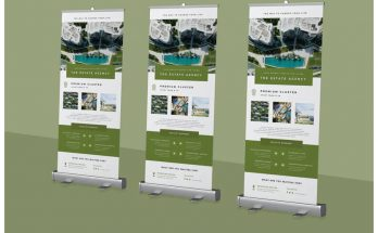 Ways You Can Change The Existing Roll Up Banner With A New One