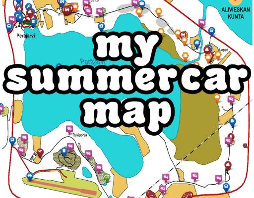 my summer car map